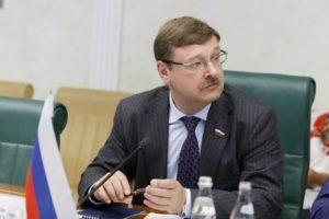 Армения для России партнер абсолютно равный и исключительно важный – Константин Косачев