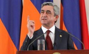 Президент Саргсян: Мы не хотим завоевать Баку и принудить Азербайджан к капитуляции