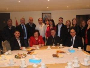 Министр диаспоры встретилась в Брюсселе с представителями армянской общины