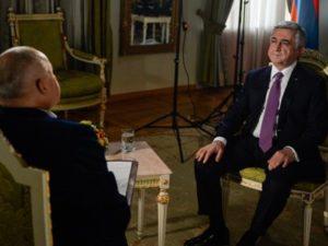 Саргсян: Я выступаю за создание «горячей линии» между Ереваном и Баку
