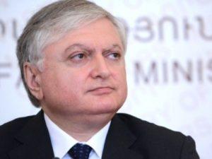 Глава МИД Армении воздержался от детализации данных о вступлении в общий авиационный пояс ЕС