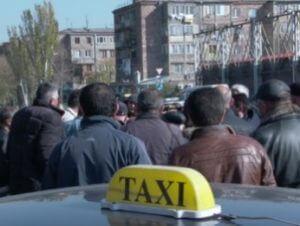 Таксисты Армении готовы поддержать армию