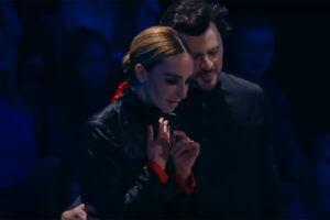 Екатерина Варнава и Максим Маринин восхитили зрителей танцем под звуки армянской колыбельной (Видео)