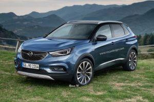 Opel разрабатывает новый кроссовер Grandland X