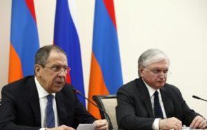 Главы МИД Армении и России встретятся в Гамбурге