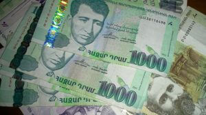 Армянский драм укрепился по отношению к иностранной валюте