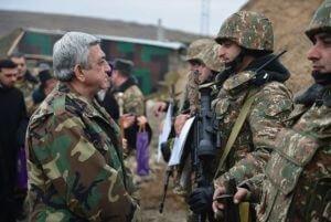 """Серж Саргсян в Тавуше: """"Я поднимаю тост за наших командиров, солдат и их семьи"""""""