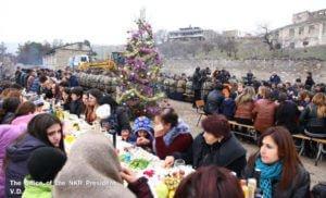 Президент Арцаха посетил село Талиш