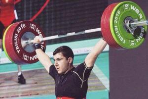 Тяжелоатлет Давид Ованнисян стал чемпионом Европы