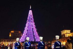 Сегодня вечером Ереван засверкает новогодними огнями