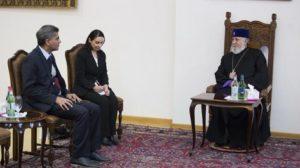 Посол Индии посетил Эчмиадзин