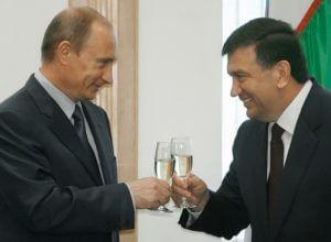 Путин пригласил Мирзиёева в Москву