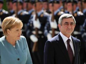 Президент Армении выразил соболезнования канцлеру ФРГ