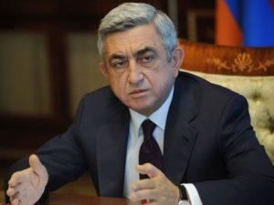 Саргсян: Уходящий 2016 г оказался особым в новейшей истории Армении