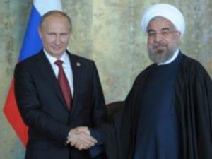 Путин и Роухани обсудили ситуацию в Алеппо