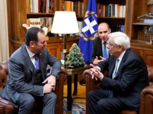 Министр обороны Армении и президент Греции обсудили перспективы развития военного сотрудничества