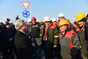 Серж Саргсян открыл новую трассу (Фото)