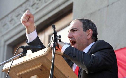 проходят пять оппозиция в армении сегодня считают что сошел