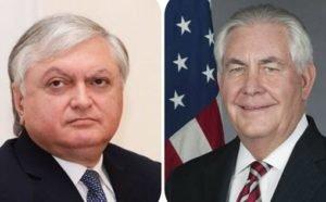 США горды совместными достижениями, зафиксированными после обретения Арменией независимости: Рекс Тиллерсон