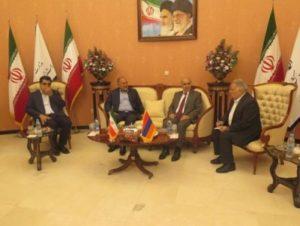 Посол Армении представил в Иране возможности свободной зоны Мегри