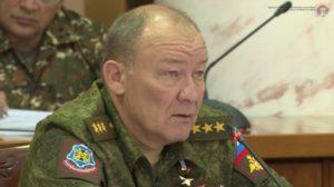 Командир, руководящий российской воинской группой в Сирии, посетил МО Армении