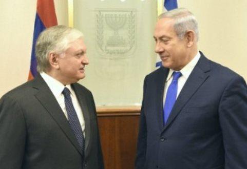 Израильская пресса проигнорировала визит Налбандяна встрану