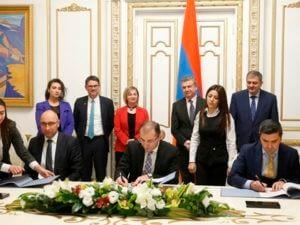 Правительство Армении и KfW подписали соглашения о сотрудничестве