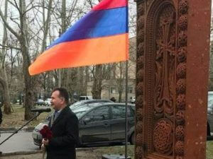 В Херсоне установили армянский хачкар