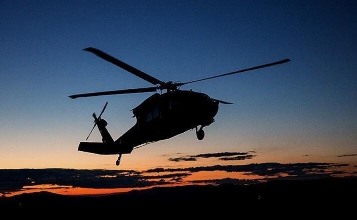 ВКалифорнии при крушении военного вертолета погибли два человека