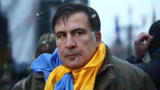 Суд вГрузии приговорил Саакашвили ктрем годам тюрьмы
