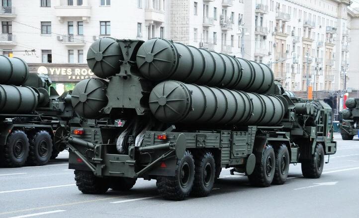Из-за шторма пострадал комплект С-400, отправленный изРФ в КНР
