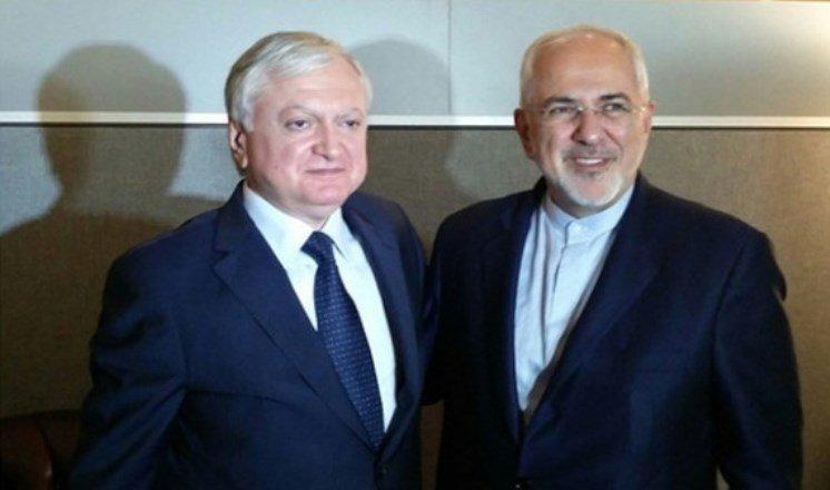 Главы МИД Армении и Ирана