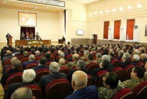 Президент Арцаха принял участие в седьмом форуме Союза воинов-освободителей