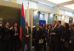 В Госдуме РФ открылась выставка «Вместе», посвященная отношениям Армении и России
