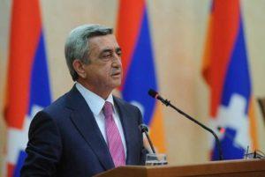 Арцах стал символом самолюбия, выдержки и победы армянского народа: Серж Саргсян