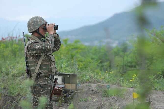 Плановый мониторинг миссии ОБСЕ вНагорном Карабахе прошел безЧП