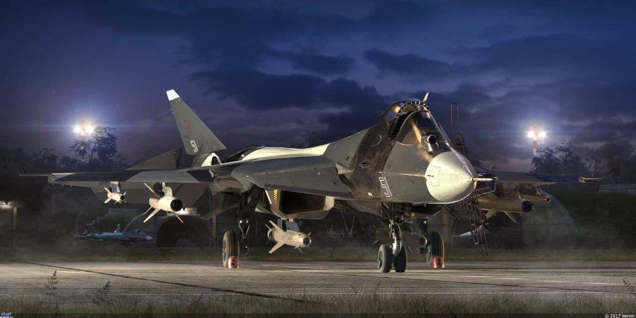 Израильская разведка выявила места базирования Су-57 в Сирии