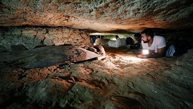 ВЕгипте обнаружили крупный некрополь жрецов ссокровищами