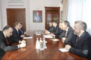 Председатели парламентов Армении и России обсудили вопросы межгосударственных и межпарламентских отношений
