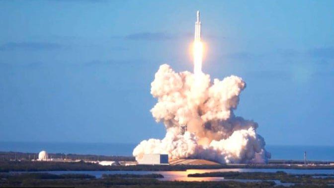 Falcon 9 совершил успешную посадку на воду