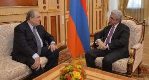 Армен Саркисян принял предложение РПА стать кандидатом на пост главы государства