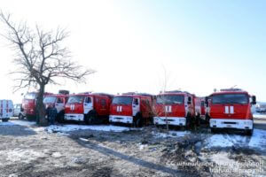 Спасательная служба МЧС Армении пополнилась техникой