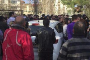 В центре Тбилиси ранен журналист «Рустави 2»