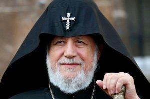 Католикос всех армян Гарегин II поздравил Владимира Путина с переизбранием на пост президента России