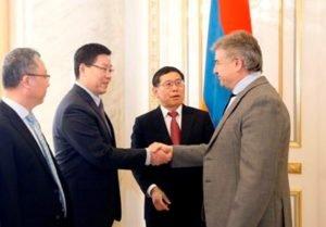 Китайская компания «Синогидро» выразила готовность продолжить строительные работы магистрали Север-ЮГ
