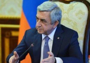 Серж Саргсян пояснил условия выдвижения своей кандидатуры на пост премьер-министра