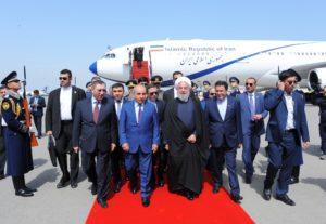 Хасан Роухани прибыл с визитом в Баку