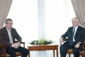 Эдвард Налбандян принял депутата Европейского парламента Франка Энгеля