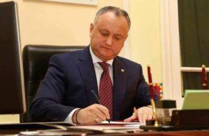 Игорь Додон поздравил Армена Саркисяна с избранием президентом Армении