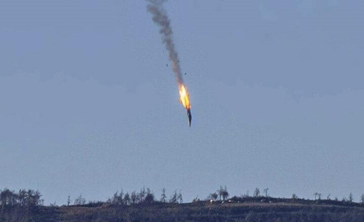 Размещено видео сосбитым вСирии Су